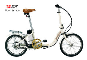 Popular Style Folding E-Bike Bicycle with 20inch Tyres pictures & photos