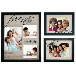 Traditions 3 Piece Wall Photo Frame Set - Friends