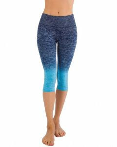 Apparel Women′s Premium Quality Yoga Gym Workout Wear Cropped Pants pictures & photos