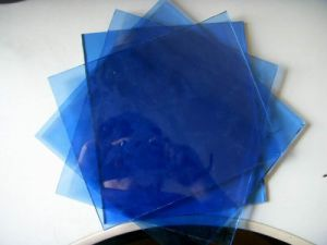 4-6mm Dark Blue Reflective Glass with CE&ISO9001