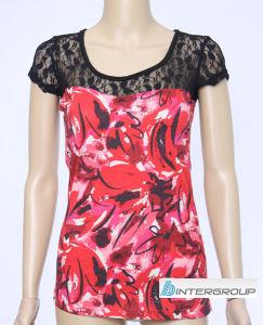 Lady′s T-Shirt (BG-L186) pictures & photos
