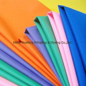 100% Spun Polyester Fabric for Sale pictures & photos