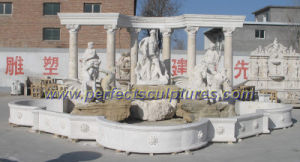 Garden Fountain with Stone Marble Granite Material (SY-F261) pictures & photos