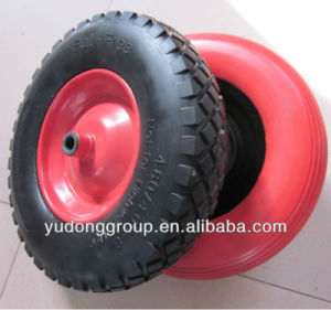 Flat Free Tire 4.80/4.00-8, PU Foam Tire 4.00-8 pictures & photos