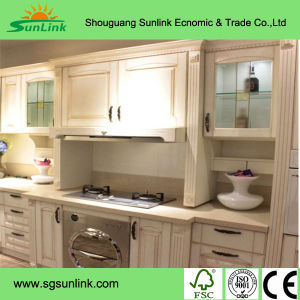 MDF Kitchen Cabinets Sliding Doors pictures & photos