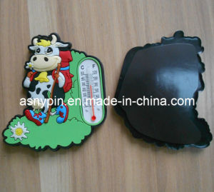 3D Soft PVC Cow Magnetic Fridge pictures & photos