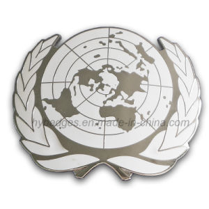 United Nations Badge Custom Army Police Badge (GZHY-BADGE-006) pictures & photos