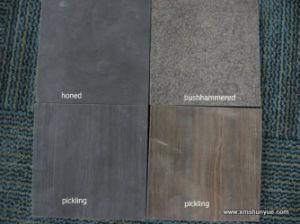 Honed Blue Limestone for Floor Tile, Slab, Countertop