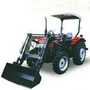30HP 4WD Mini Farm Wheel Tractor with Front End Loader pictures & photos