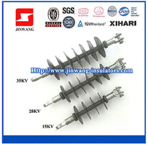ANSI Standard 15kv, 28kv, 35kv Composite Suspension Insulators /Polymer Insulators pictures & photos