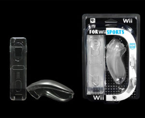 Crystal Cases for Remote & Nunchuck for wii