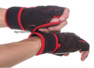 Comfortable Bicycle Glove with Hald Finger pictures & photos