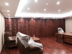 Mkr 63mm 89mm 114mm Louver Plantation Basswood Wood Shutters