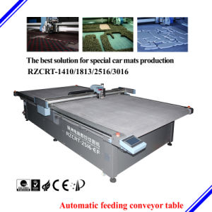 Special 4D 5D Car Mats Cutting Machine by Vibration Knife pictures & photos
