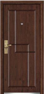 Steel Wooden Armored Door (YF-G9040) pictures & photos