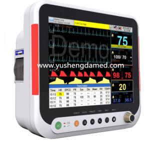 15 Inch High Qualified Portable Patient Monitor Hopital Equipment pictures & photos