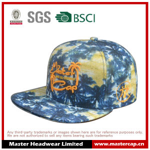 Heat Transfer Printing Snapback Hat with Sea Style for Unisex Adult pictures & photos