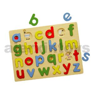 Wooden Lowercase Alphabet Puzzle (80119) pictures & photos