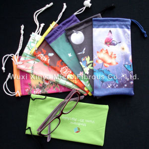 Microfiber Pouch for Sunglasses/Helmet/ TV Ext Care Use