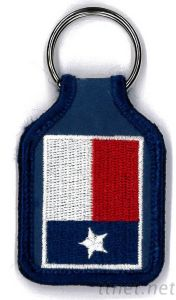 Key Fob with Embroidery, Badge, Crest, Emblem pictures & photos