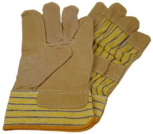 Working Leather Gloves with CE Approval (SQ-005) pictures & photos
