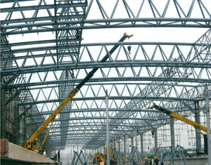Steel Pipe Truss Frame Building pictures & photos