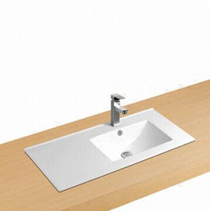 Rectangle Ceramic Cabinet Washbasin, Bathroom Ceramic Wash Basin pictures & photos