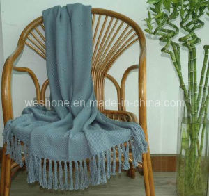 Bamboo Throw, Bamboo Blanket, Bamboo Fiber Throw Bb-09122 pictures & photos