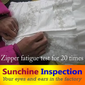 Wedding Dress Inspection Services / Garment Quality Inspection Service / Garment Quality Control and Testing Services pictures & photos