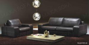 Modern Leather Sofa (HD68)