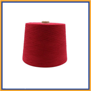 Polyester/Cotton/Viscose/Bamboo/Spun Dyed Yarn pictures & photos
