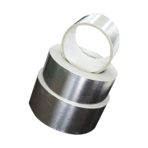 Aluminum Foil Fiberglass Tape / Foil-Glass Cloth Tape for Duct (AFRT7, AFRT18) pictures & photos