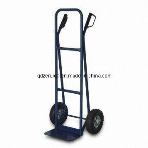 Heavy-Duty Tubular Steel Frame and Loop Gandle Hand Trolley (HT2027) pictures & photos