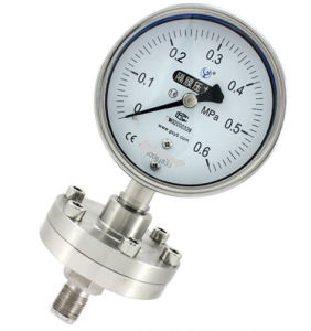 Y-100A/Z/Mf (B) 316 Diaphragm Seal Pressure Gauge