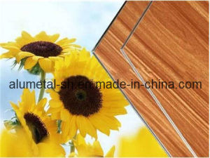 Wooden Aluminum Wall Panel