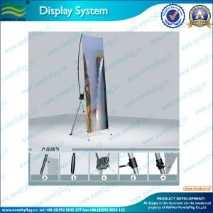 Simple X Banner Display Stand in Large Size (M-NF22M01005) pictures & photos