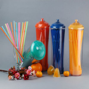 Flexible Straw Dispenserbox Packing Party Straws PP Disposable Straws pictures & photos