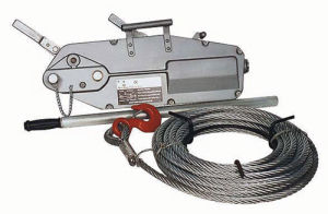 Wire Rope Pulling Hoist for Lifting pictures & photos
