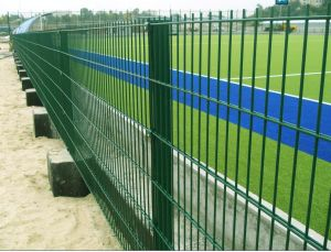 PVC with Hot Dipped Galbvanized Sport Double Wire Mesh Fencing Fr1 pictures & photos