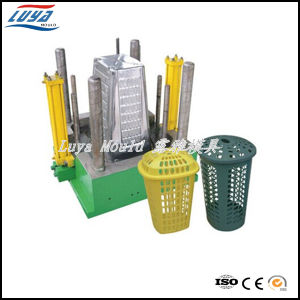 Plastic Injection Waste Bin Mould