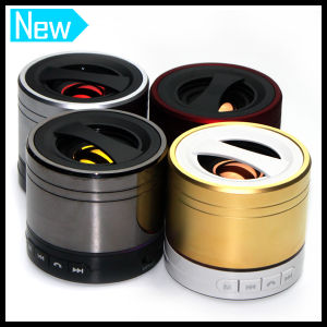 Mini Portable Bluetooth Stereo USB Speaker with LED Light pictures & photos