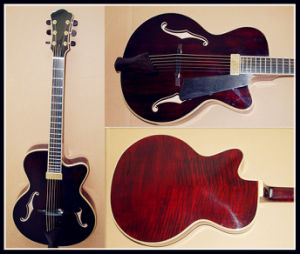 "15"" Jazz Guitar Available (YZ-15DA)"