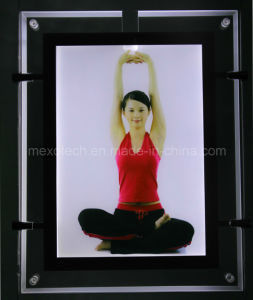 Crystal Ultra Thin LED Light Box with Cutout-Design (CSH02-A4P-01) pictures & photos