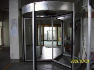 Three Wing Rervolving Door pictures & photos