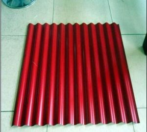 Color Coated Corrugated Steel Plate pictures & photos