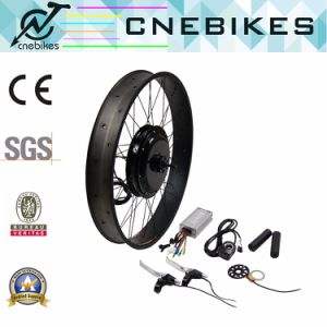 26X4 1kw Brushless Gearless Hub Motor Electric Bike Kit with Optional Batetry pictures & photos