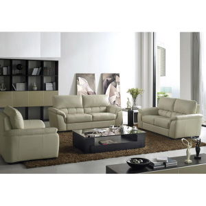 Living Room Leather Sofa (WD-6790)