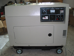 EPA & CE Approval 5, 6Kw Air-cooled Quiet Diesel Generators