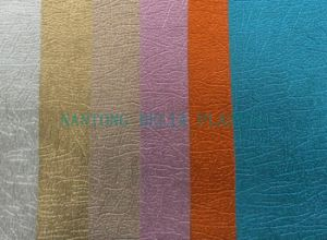 PU Decorative Leather for Bed, Sofa, Chair (HL48-17) pictures & photos