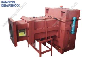 Yps Series Gearbox for Inverted Parallel Twin Screw Extruder pictures & photos